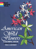 bookcover American Wild Flowers Coloring Book