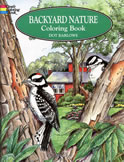 bookcover Backyard Nature Coloring Book